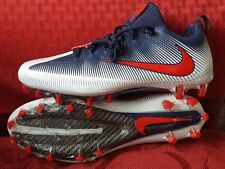 NIKE VAPOR UNTOUCHABLE PRO FOOTBALL CLEATS SIZE 14 NAVY WHITE RED 839924-113