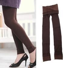 Para mujer caliente de invierno Skinny Ajustado Elastizado Medias Pantalones Gruesos Sin Pies Hot Sale BT