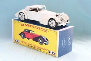 Matchbox Yesteryear Y17-1  Hispano-Suiza 1938 - Code 3 (E19)
