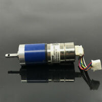 Micro 22mm Planetary Gear Gearbox Precision DC 12V 2-phase 4-wire Stepper Motor