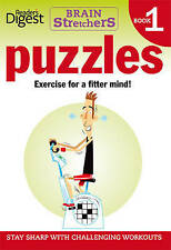 """VERY GOOD"" Brainstretchers 1 - Puzzles 1, Reader's Digest, Book"