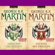 George R. R. Martin - Das Lied von Eis und Feuer 9 + 10 im Set - Portofrei