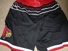 Louisville Cardinals Basketball Mangok Mathiang Game used Black Shorts