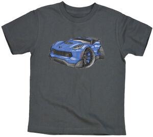 C7 Corvette Z06 Blue Black Koolart 3382 Youth