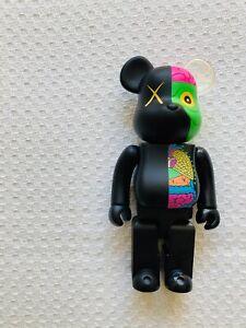 KAWS x BEARBRICK 'Dissected Companion' 400% (Black), 2010, 100% AUTHENTIC