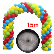 Large 15m Balloon Arch Frame DIY Kit Tape Stand Strip Poles no Helium Needed UK