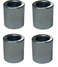 "Rod End Reducer 1/2"" OD x 3/8"" ID 4 PACK Heims spacer offroad 4x4 Dirt IMCA Ends"