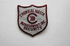 CHEMICAL WASTE MANAGEMENT INC SECURITY PATCH