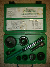 "GREENLEE SLUGBUSTER 7238SB MANUAL PUNCH DRIVER SET 1/2"" TO 2"" KNOCK OUT"