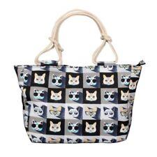 Canvas Tote Cat Handbags