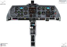 Grob Tutor G115E Cockpit Poster 100% Accurate 3D Vector Artwork