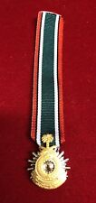 MINIATURE SAUDI GOVERNMENT  LIBERATION OF KUWAIT MEDAL WITH RIBBON