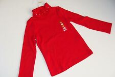 Gymboree Holiday Cozy Cutie Girls Size 4 Red Shirt Top NWT NEW