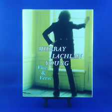 MURRAY LACHLAN YOUNG: Vice & Verse Limited Edition Deluxe Book & CD PROMO COPY