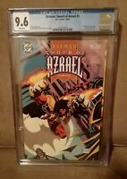 Batman: Sword of Azrael #1 CGC 9.6 1st Appearance Azarael L@@K