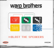WARP BROTHERS - Blast the speakers CDM 6TR Trance Hard House (INSOLENT SPAIN)