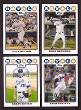 2008 Topps KANSAS CITY ROYALS Team Set w/ Update 28 Cards