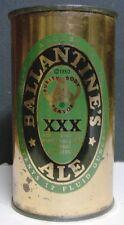 Circa 1950 Ballantine's XXX Ale Flattop Can - Newark, NJ - Empty