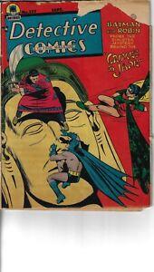 Detective 139 Batman Robin Good- 1948 Mortimer Cover Double Size
