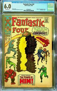 Fantastic Four #67 (Oct 1967, Marvel) - CGC 6.0