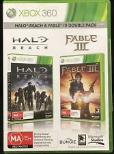 XBox 360 Game Halo Reach & Fable III Double Pack