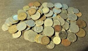 100 DIFFERENT ISLAMIC MIDDLE EAST COINS, MANY TYPES  S15