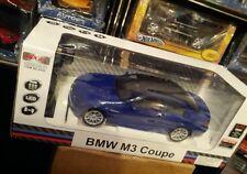 1:14 MJX BMW M3 Coupe Blue RC w Lights Mint in box Ultra Rare L@@k!!!
