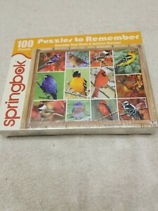 NEW PUZZLES TO REMEMBER SONG BIRDS 100 PIECE by SPRINGBOOK