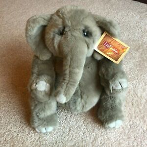 """Lou Rankin Friends Dakin Hoover Elephant Plush 12"""" Applause # 24417 New With Tag"""