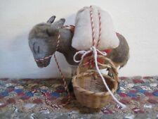 Handmade Cafe De Colombia Mule Donkey Burro Coffee Bags