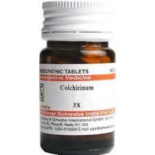Dr Willmar Schwabe India Colchicinum Trituration Tablet 3X 20 GM Free Ship