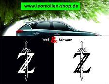 Zelda Schwert Auto Aufkleber – Auto Tattoo – Wand Tattoo 16 x 8 cm   #1