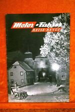 Motor + Fahrer Reise Revue 12/57 der neue VW Turiner Salon
