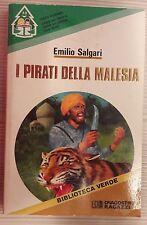 LIBRO EMILIO SALGARI - I PIRATI DELLA MALESIA - DEAGOSTINI 1990