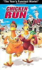 Chicken Run (VHS, 2000) in clamshell case
