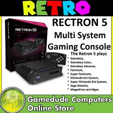 HYPERKIN Rectron5 Multi System Gaming Console Black MODEL : M01688-BK