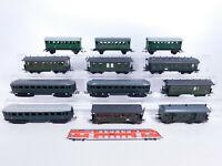 CQ233-2# 12x H0/DC Personenwagen etc, leichte Mängel/gebraucht, Piko/Schicht