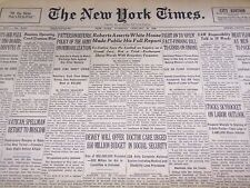 1946 JANUARY 29 NEW YORK TIMES - DOCTOR CARE IN SOCIAL SECURITY - NT 3459