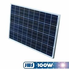 Solarpanel Solarmodul 100Watt 100W 12V 12Volt Solarzelle Solar Polykristallin