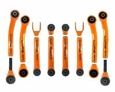 Adjustable Control Arm Set Jeep Grand Cherokee ZJ 93-98 WITH OEM RUBBER BUSHINGS