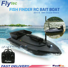 2011-5 Flytec Fishing Tool Smart Rc Bait Boat Toy 500m Remote Control 5.4km/h Us