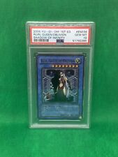 2006 Yu-Gi-Oh 1st Edition Shadow Of Infinity Ruin, Queen/Oblivion Psa 10 Mint