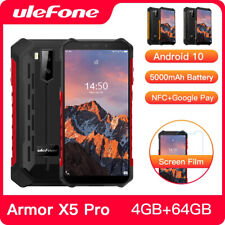 Ulefone Armor X5 Pro 4GB 64GB 5000mAh Mobile Phone Rugged IP68 Waterproof MT6762