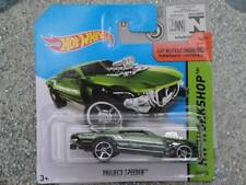 Hot Wheels 2014 #205/250 PROJECT SPEEDER green Batch P New casting