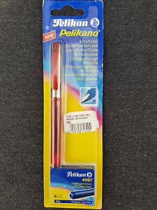 "Pelikan Pelikano Modell 2003 P450 ""M"" rot NEU OVP mit Patronen Vintage"