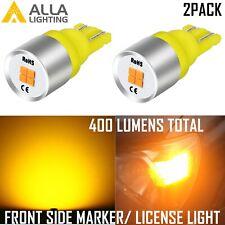 LED Amber Side Marker Light Bulbs Pair for Chevy Blazer GMC Jimmy C/K R Pickup
