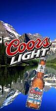 Coors Light Mountains Cornhole Wrap Bag Toss 3M Cornhole Decal Set