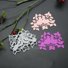 Bird Leaf Metal Cutting Dies Stencil for DIY Scrapbooking Album Paper Card Craft