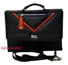 """New Business Mens Leather Briefcase Bag Handbag 14"""" Laptop Shoulder Bag Tote Bag"""
