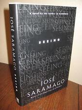 1st/1st Printing SEEING Jose Saramago NOBEL PRIZE Modern Fiction CLASSIC